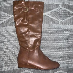 Style & Co. Tall wedge boots